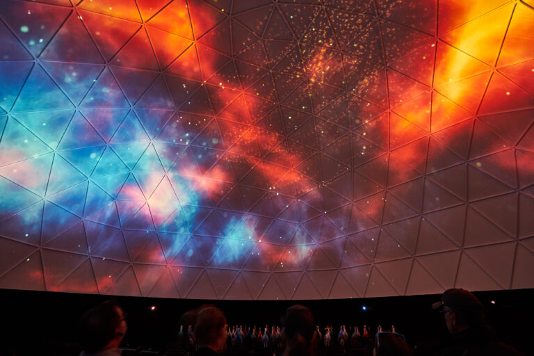 Statera dome projection 2