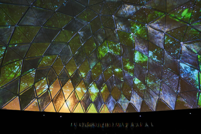 Statera Dome projection 3