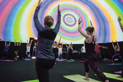 Yoga immersif dome Statera